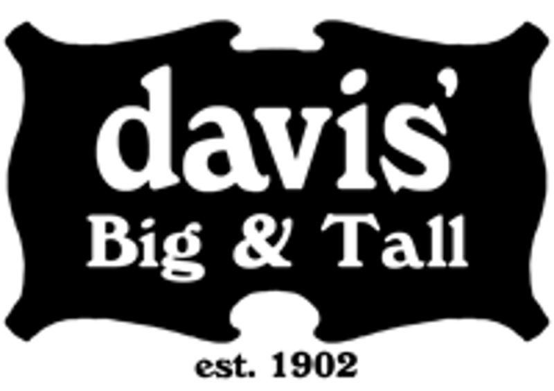 Davis' Big and Tall Coupons