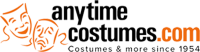 Anytime Costumes Coupons: 15% OFF Orders of $25+